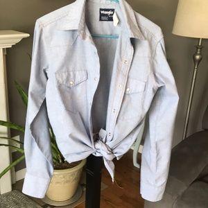 Vintage Wrangler Pearl Snap Shirt